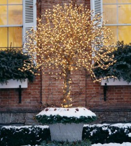 Christmas landscaping decoration